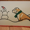Shar Pei Christmas Card