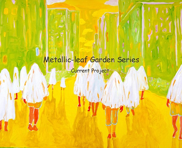 Metallic-leaf Garden series