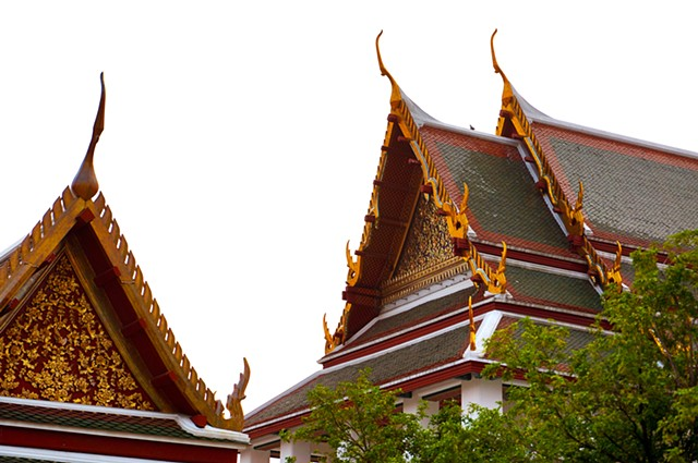 Reference Image: Temple Rooftops in Chiang Mai