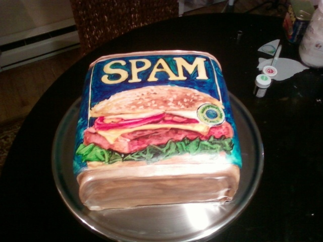 Spam the Second (or Spam Jr.)