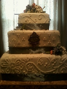 MCGraw Wedding Cake