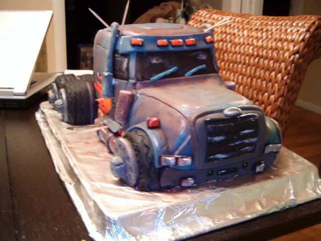 Freightliner Cake - Tom's Retirement