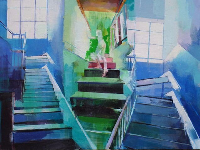 Green Stairs