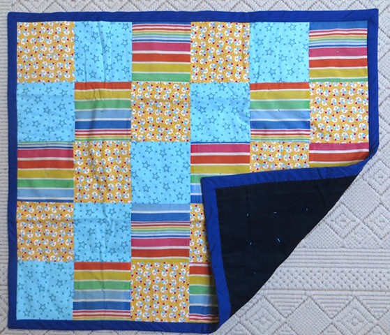 Donna's baby quilt remake - side 1