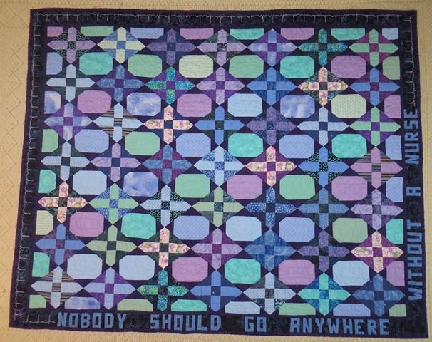 Ada's graduation quilt