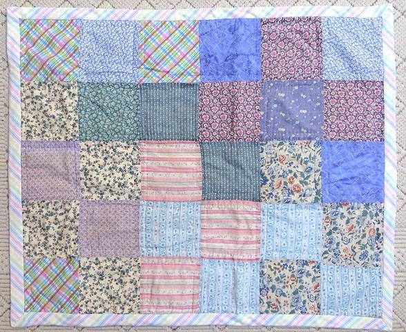 Donna's baby quilt remake.  Side 2.