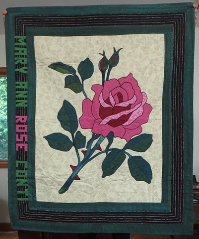 Mary Ann Rose quilt