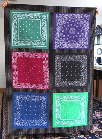 bandana quilt #2