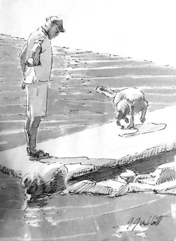 Walking the Dog #4