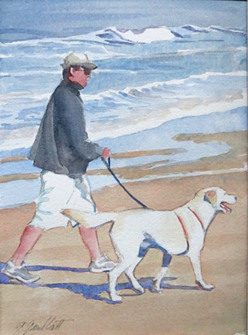 Walking the dog #1