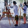 Painting on the Wharf, Provincetown