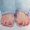 Marilyn's Feet