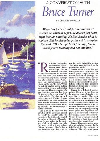 American Artist Magazine - January, 1996