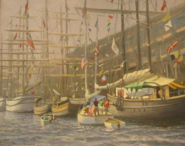 Boston Visitors - Tall Ships