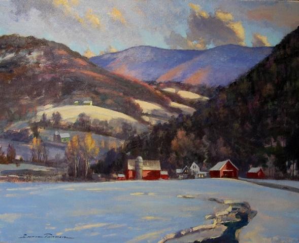 February Thaw - Vermont