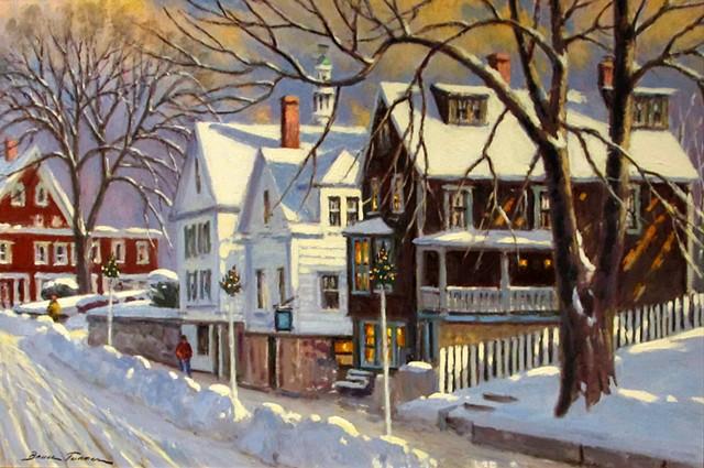 """""""Winter on Main Street"""""""