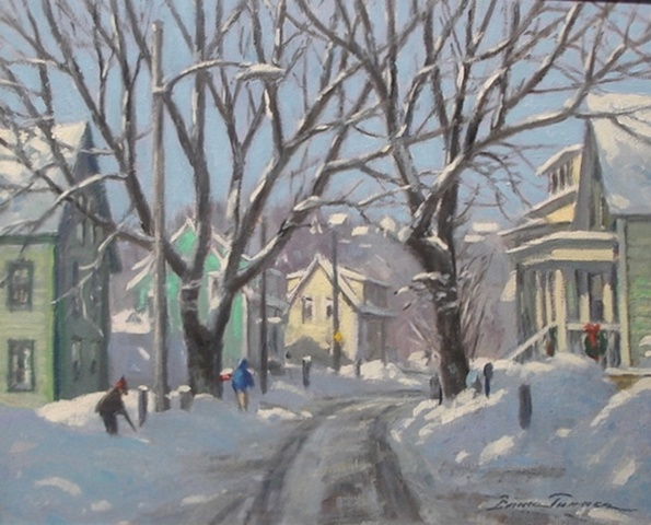 """Smith Street Winter - Rockport"""