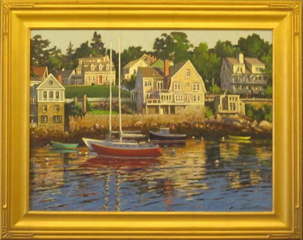 Winner of Vermont Community Foundation's Alden Bryan Memorial Award, North Shore Arts Association