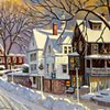 """Winter on Main Street"""