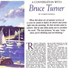 """A Conversation with Bruce Turner""             by Charles Movalli  American Artist Magazine  January, 1996"