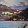 """February Thaw - Vermont"""