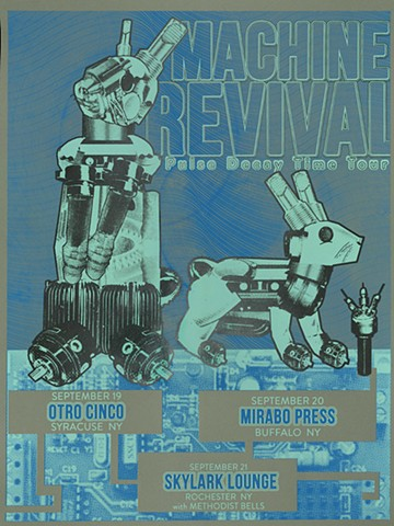 Tour Poster, Machine Revival Project