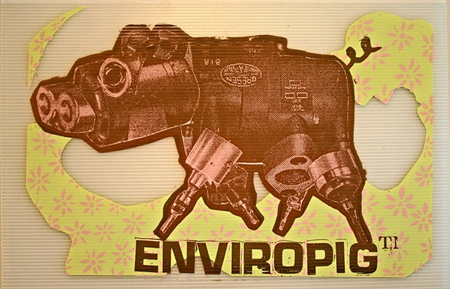 Enviropig, Screenprint