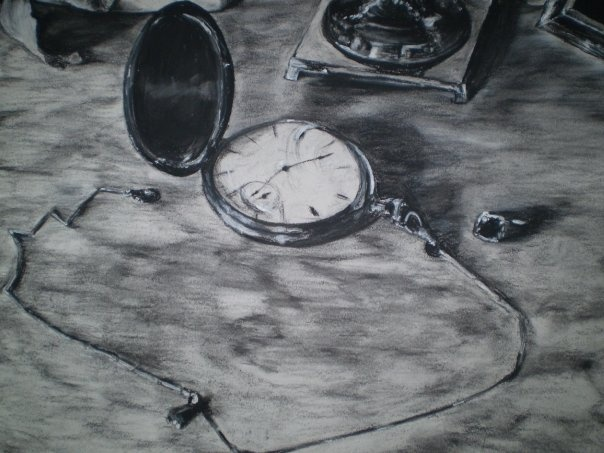 Clock Still Life Detail
