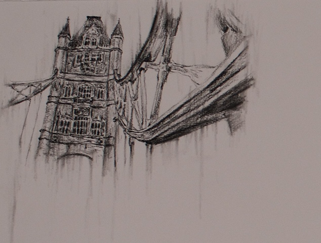 Tower Bridge Sketch II Detail