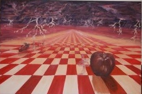 Surreal Checkerboard
