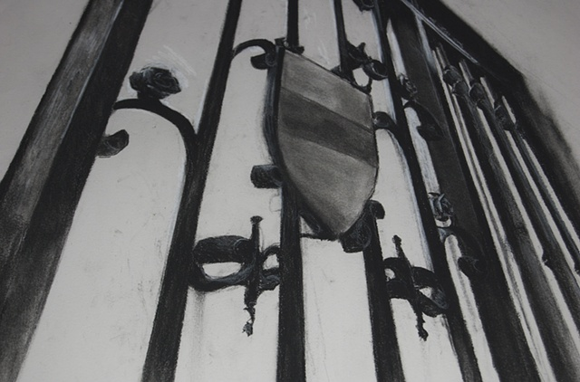 Oxford Gates II Detail