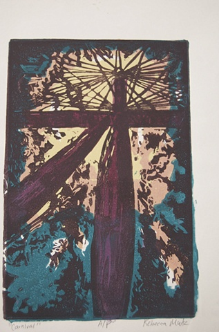 Five Block Print II