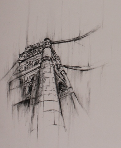 Tower Bridge Sketch IV Detail