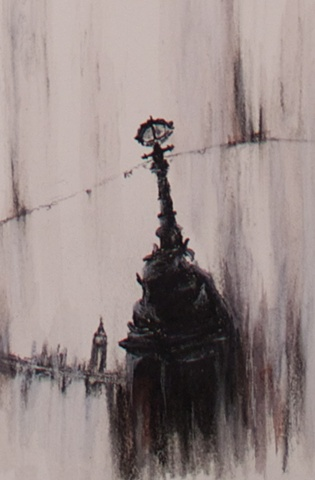 London Lamppost II Detail