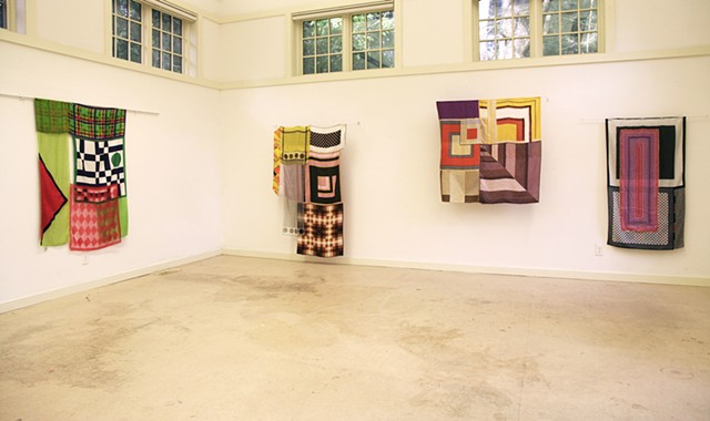 Installation view at Yaddo (Greenhouse), Saratoga Springs, NY