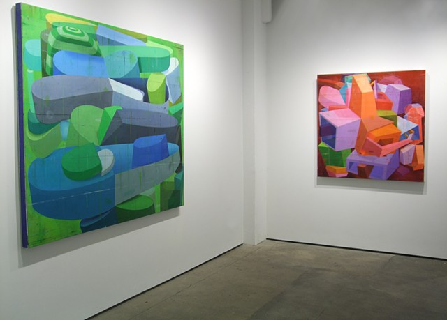 Installation view   It happened, but not to you   Kathryn Markel Fine Art   September-October 2014