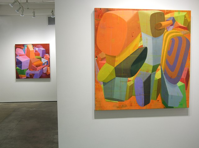 Installation view It happened, but not to you Kathryn Markel Fine Art September-October 2014 2014