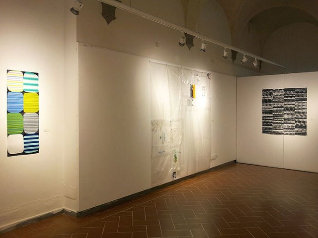 Ephemera,   Installation view, SACI Gallery, Studio Art Center International, Florence, Italy  July 2- 31, 2015