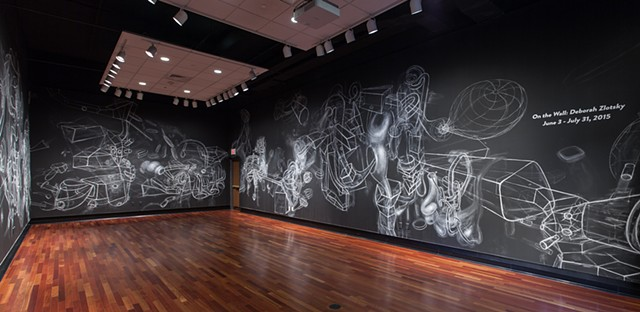 On the Wall: Deborah Zlotsky Installation view Providence College
