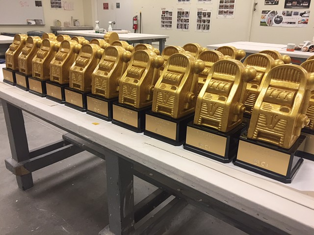 IGT Gaming, Golden Slot Trophies