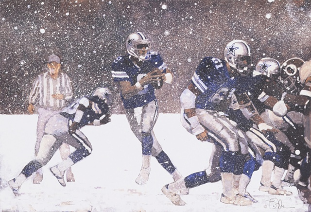 Dallas Cowboys Christmas Card