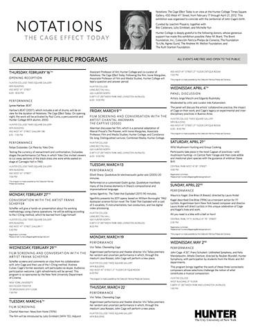 Notations: Public Programs