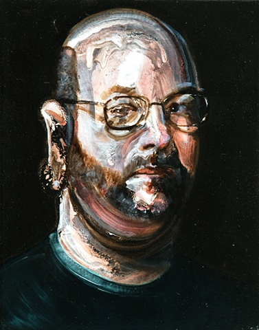 self portrait beard old masters by Steve Veatch