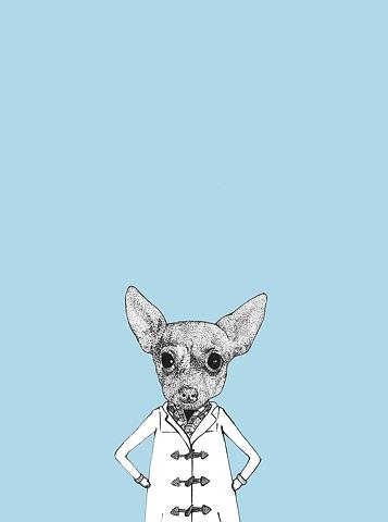 A dog named JoJo.