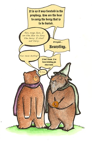 Wizard bears.