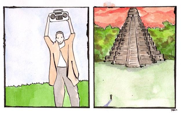 Dobler stops the Mayan Apocalypse.