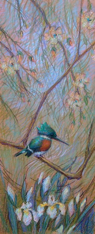 Study for still life Kingfisher
