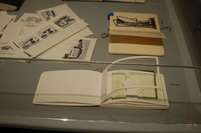 Installation view, Joey Bates Sketchbook