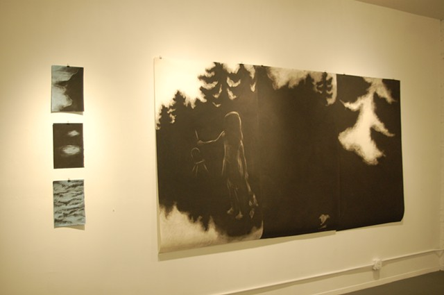 Installation view, Pat De Caro