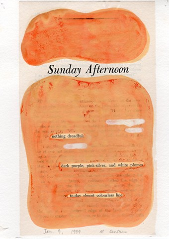 "Dear John (From ""Sunday Afternoon"" chapter)"